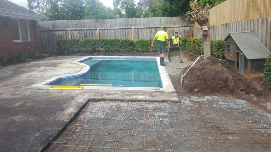 pool landscapers brighton