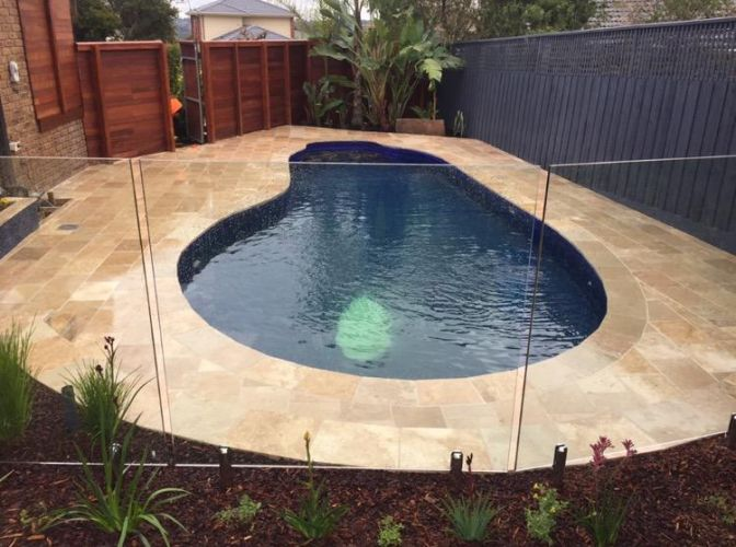 pool landscapers kew